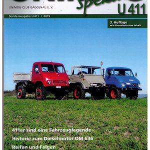 Unimog Spezial Sonderausgabe U 411 Auflage 3