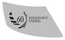 """Aufkleber """"60 Jahre Mercedes-Benz Unimog"""""""