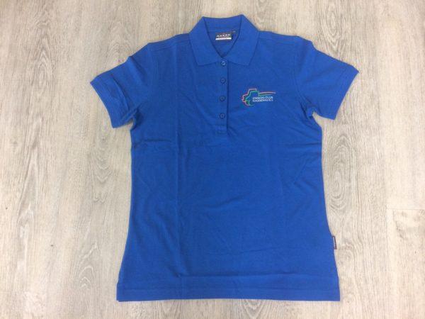 Damen Polo-Shirt royal-blau