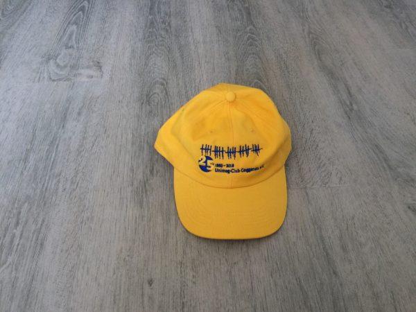 Jubiläumsmütze gelb