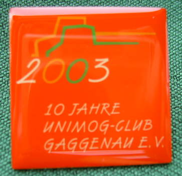 "Pin ""Unimog-Club 2003"""