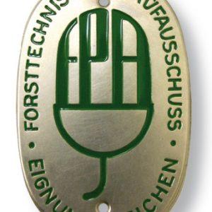 Plakette Forst FTP