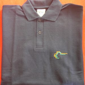 Polo-Shirt dunkelblau