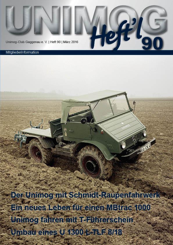 Unimog Heft´l Nr. 90