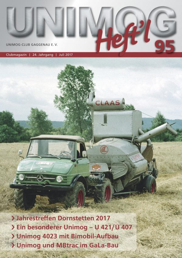 Unimog Heft´l Nr. 95