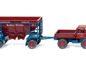 Modell U 406 mit Kohleanhänger