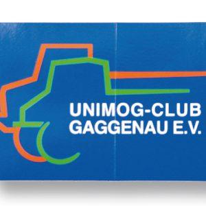 Aufkleber UCG groß (255 x 165 mm)