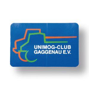 Aufkleber UCG klein (85 x 55 mm)
