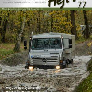 Unimog Heft´l Nr. 77