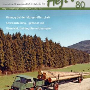 Unimog Heft´l Nr. 80
