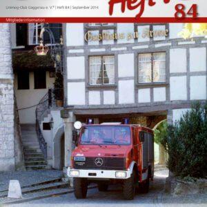 Unimog Heft´l Nr. 84